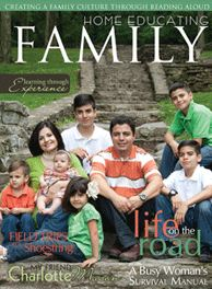Free Subscription:  Home Educating Family Magazine